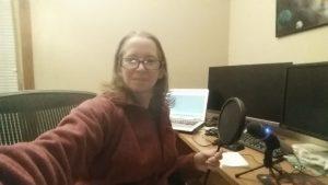 High tech recording studio? Not so much.