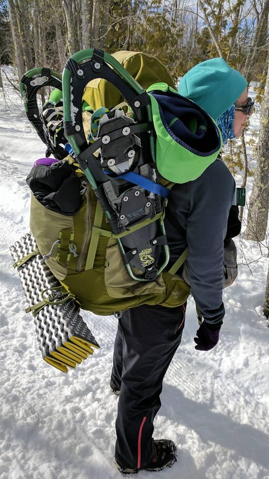 Loaded backpack