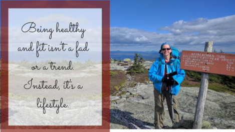 Hiking Donna - healthy lifestyle