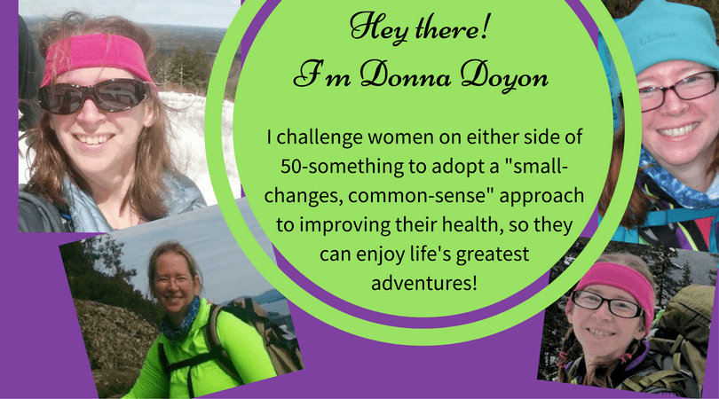 Donna Doyon - challenging women to adopt healthier lifestyle practices