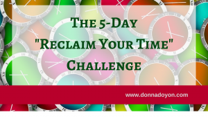 5-Day Reclaim Your Time Challenge