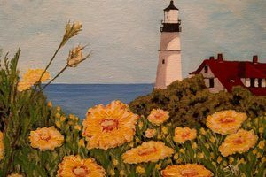 Portland Headlight by Sheri Doyon