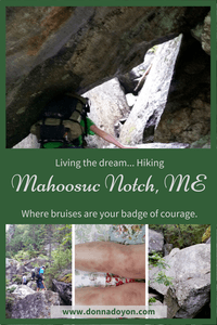 One of my dreams has been to hike the one-mile section of the Appalachian Trail known as Mahoosuc Notch. It is called the hardest mile, the slowest mile, and the most fun mile. It took courage to attempt it. It took courage to complete it. self confidence exercises, believe in yourself, success mindset, find your courage #couragetosucceed,#positivebodyimage#healthyhabitsmotivation