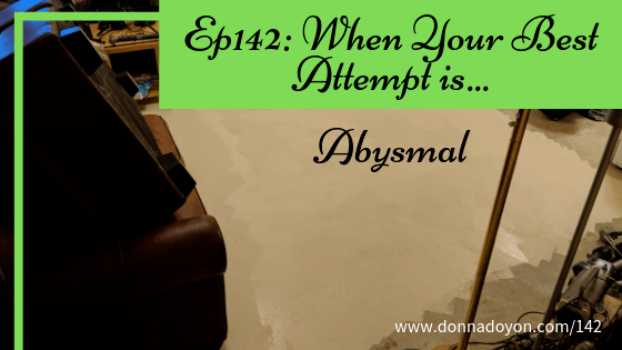 Donna Doyon - Best Attempt is Abysmal