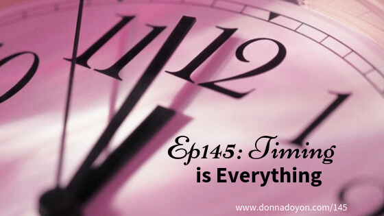 Donna Doyon - Timing is Everything
