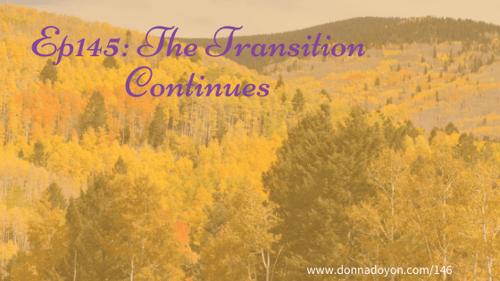 Donna Doyon - The Transition Continues
