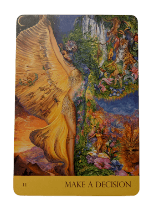 11 Make a Decision from Nature's Whispers oracle deck