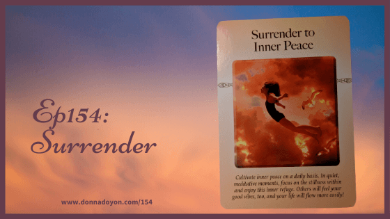 Donna Doyon - Surrender to Inner Peace - Judith Orloff