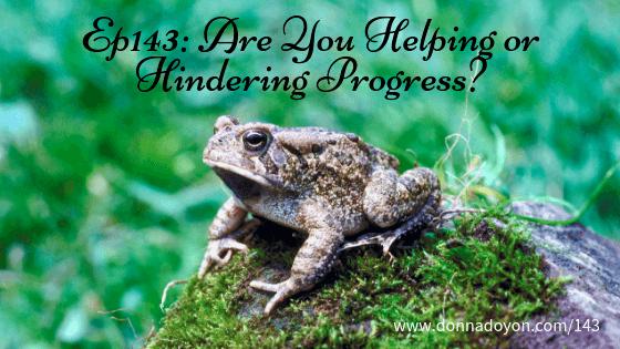 Donna Doyon - Helping or Hindering Progress - c