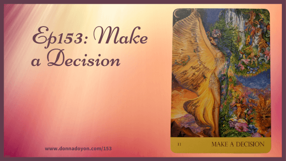 Nature's Whispers oracle deck - Make a Decision